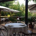 Breakfast/dinner patio