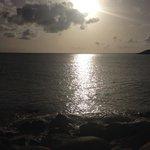 Sunset at Maho