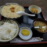 ほたて貝焼みそ定食 (¥1,000)