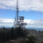 Fire tower on the summit