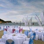 Banquet on the beach