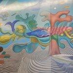 First floor murals