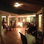 fire dancer - night entertainment