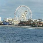 Morey's Pier from the Thunder Cat