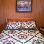 Loved the homemade quilts :)