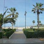 Promenade from cafe of Hotel Neptuno.