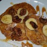 Banana gluten free pancakes