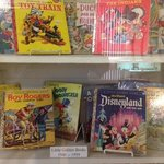 Display of vintage Golden Books