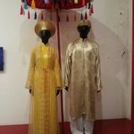 Costumes for a Vietnamese wedding.