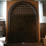 The original prison gate looked like.