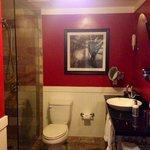 Bathroom of a standard city view room