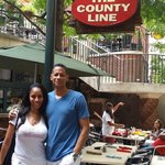 County Line BBQ on the Riverwalk