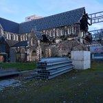 разрушенный Кафедральный Собор рядом