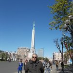 me at Freedom Monument