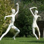 le jardin aux sculptures