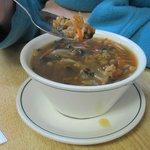 Soup was fine.