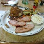 Finnish sausages + uninspiring sides.