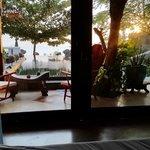 Vista dal letto della Villa Nirwana