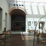 Cafe in Parador de Caceres.