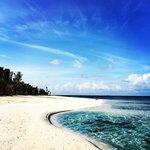 The beach: solitude