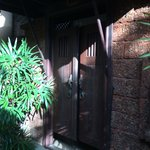 Balinese-like room entrance..!