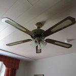 Fan at room
