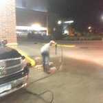 Power Washing at 230 AM