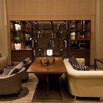 Park Hyatt Zurich - Lobby Lounge library