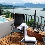 Your own Whirlpool on the terrace