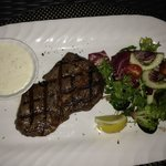 Steak at the Grill
