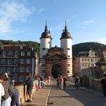 Bridge over the Rhine at Heidelberg