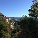 La vista di La Spezia dalla camera