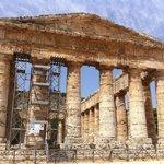 Tempio greco davvero suggestivo