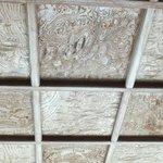 表玄関の天井