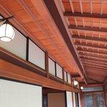 中棟の畳廊下の天井