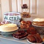 All homemade cakes