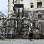 Drzewo życia, pamiątka holocaustu.