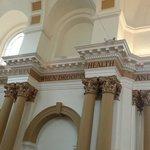 Beautiful restoration of the interior