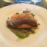 Sea Bass from the main course