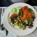Salad at Klosterkeller as appetizer