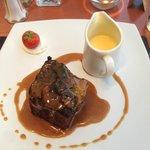 Sticky toffee pudding to die for!