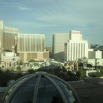 view of the strip from room