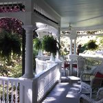 Wrap around Victorian porch