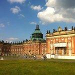 The New Palace at Sans Soucci Park