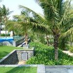 View of next door pool