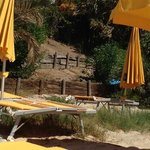 spiaggia albergo: poca manutenzione