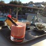 aperitivo a bordo piscina