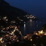 View from Casa Le Terrazze at night