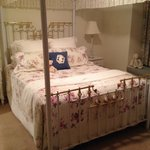Our beautiful bedroom - old school charm