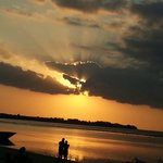 tramonto a gili air mirage cafe